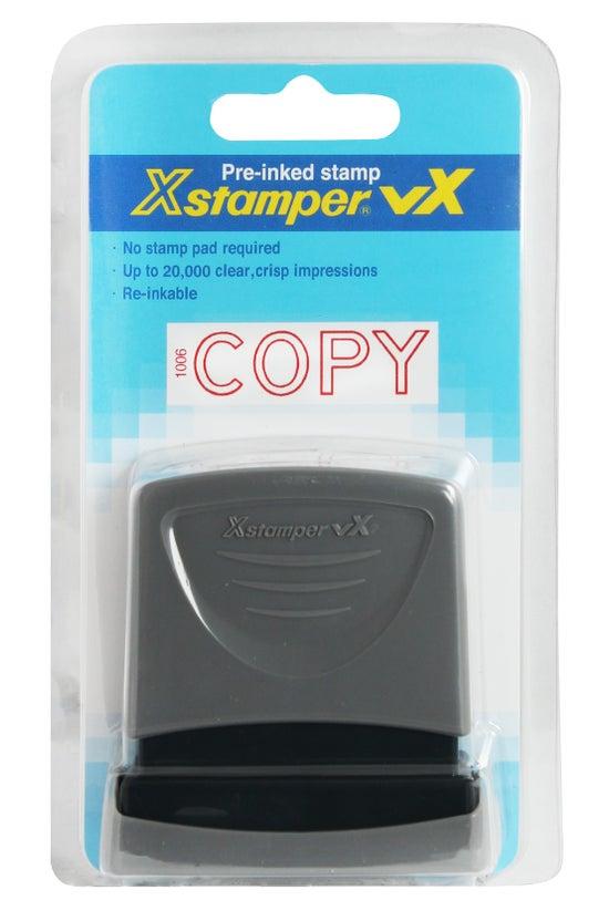 Xstamper Pre-inked Stamp Copy ...