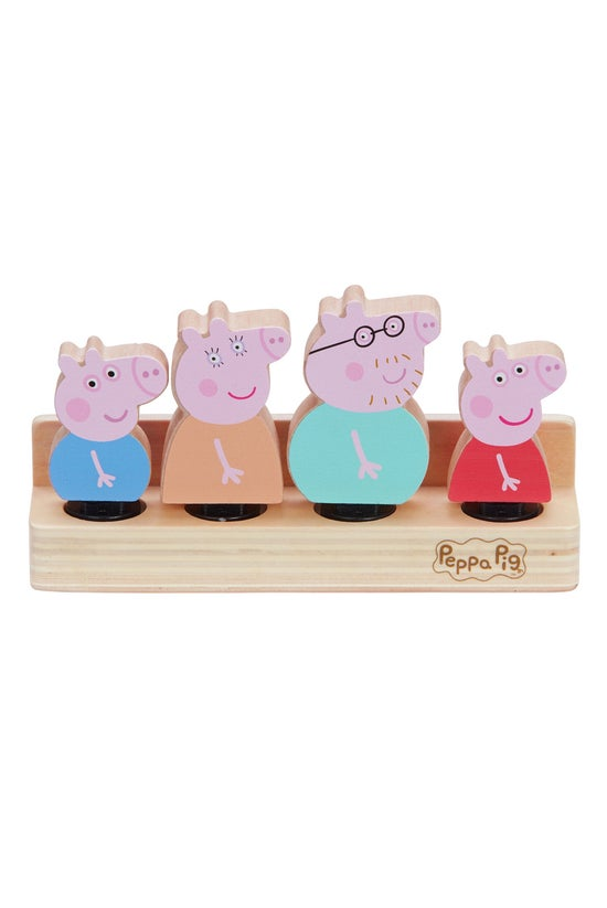 Peppa Pig Wooden Family Figure...