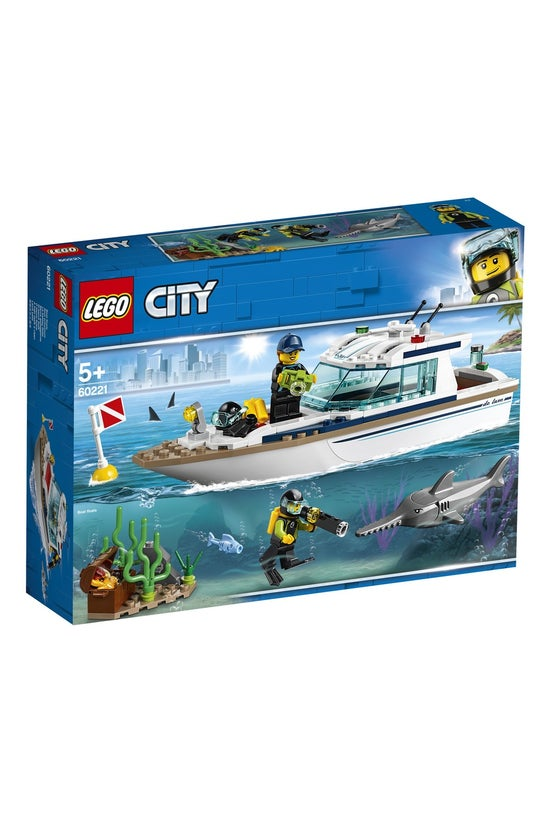 Lego City: Diving Yacht 60221