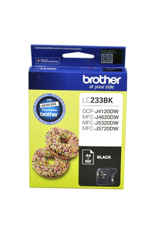 Brother Ink Cartridge Lc233bk ...