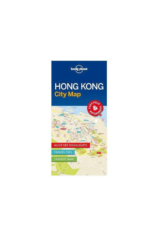 Lonely Planet Hong Kong City M...