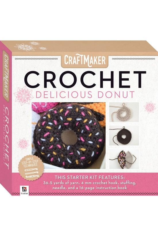 Craftmaker Crochet: Donut