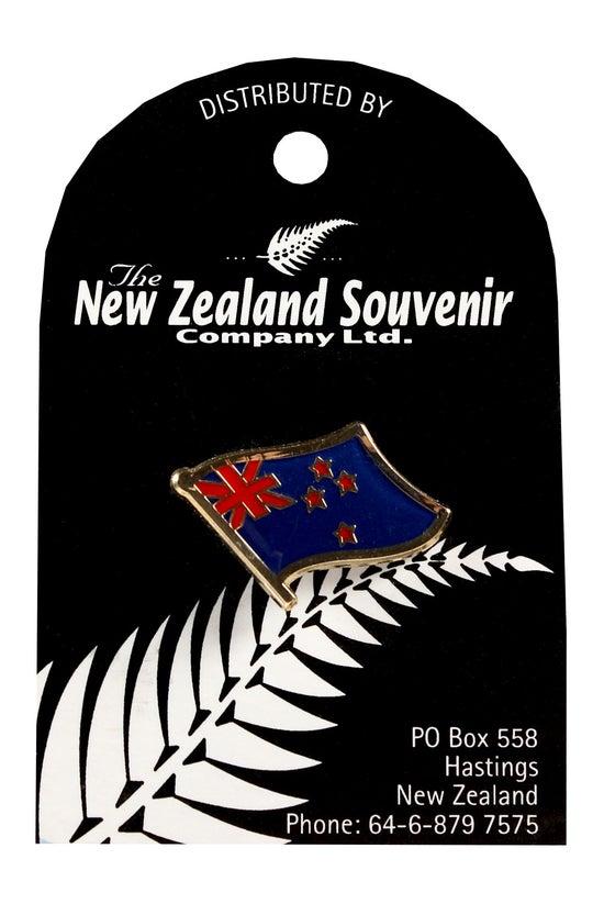 Lapel Pin New Zealand Flag