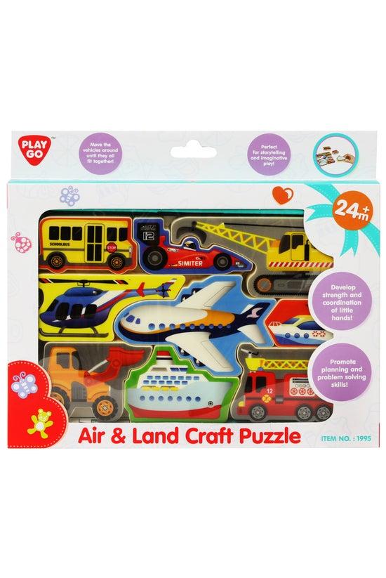Jigsaw Puzzle Air & Land C...