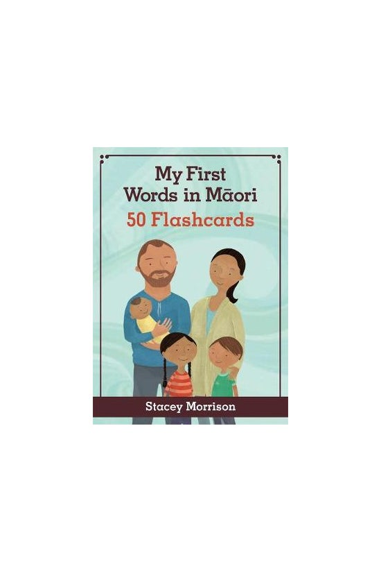 My First Words In Maori Flashc...