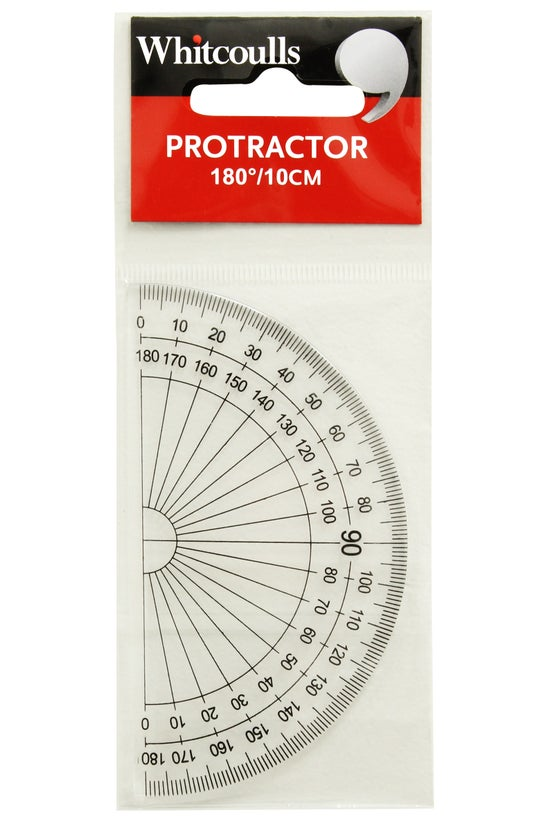 Whitcoulls Protractor 180 Degr...
