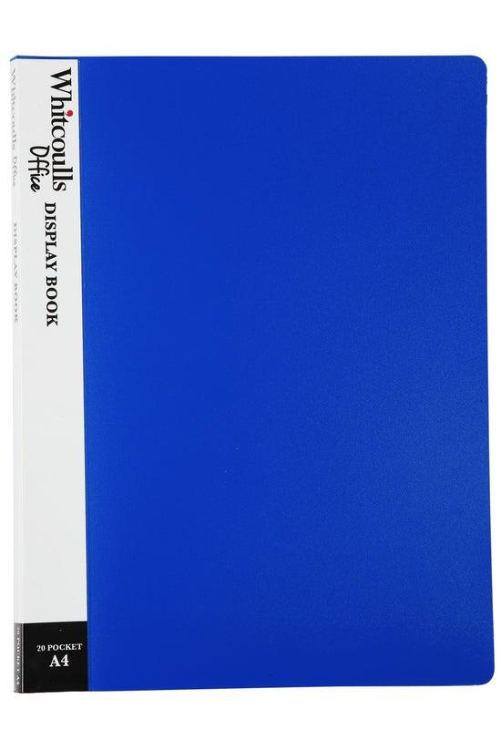 Whitcoulls Display Book A4 Blu...