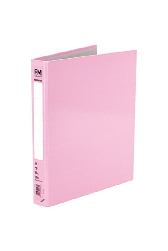 Fm Ringbinder A4 Pastel Pink