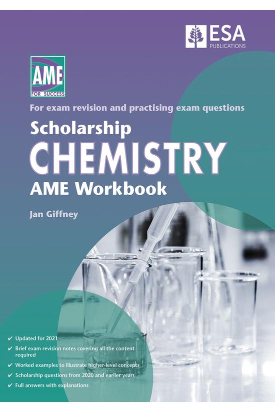 Scholarship Chemistry Ame Work...