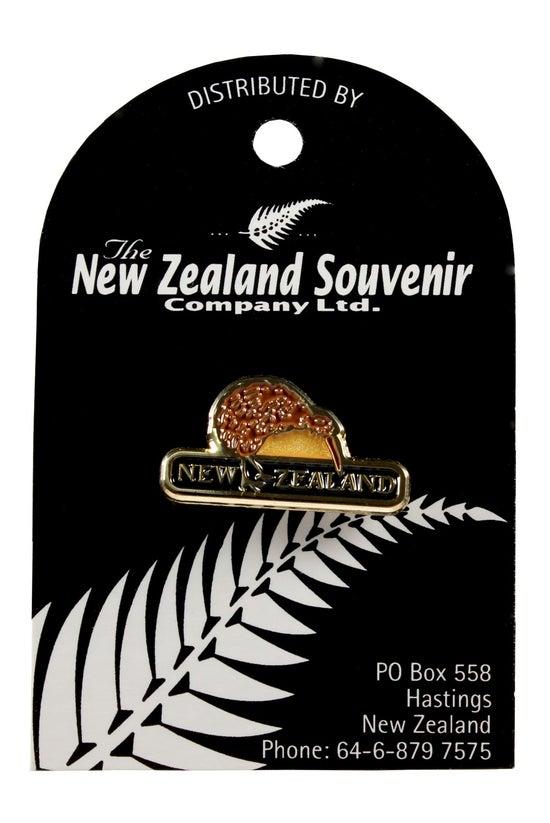 Lapel Pin Kiwi Brown