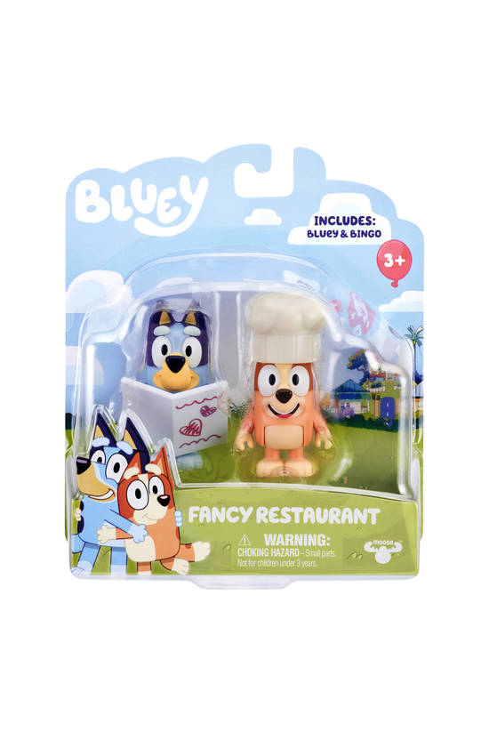 Bluey Figures 2-pack Assorted