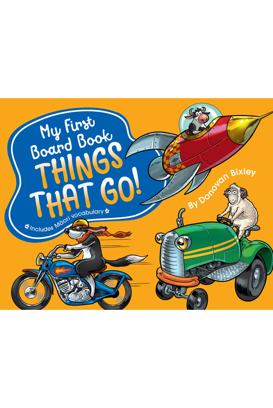 My First Board Book: Things Th...