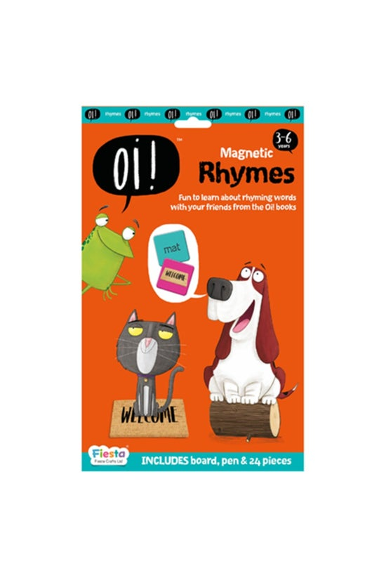 Oi! Magnetic Rhymes Activity S...