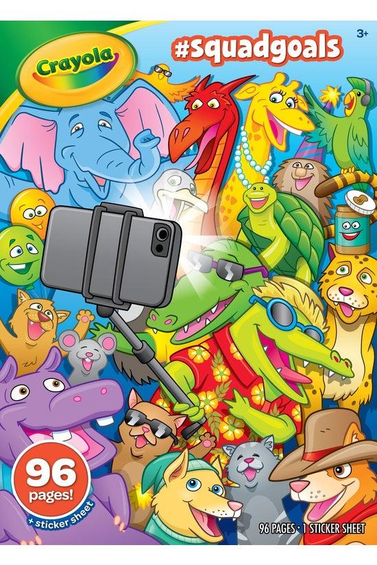 Crayola Colouring Book #squadg...