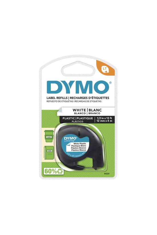 Dymo Label Tape Plastic Pearl ...