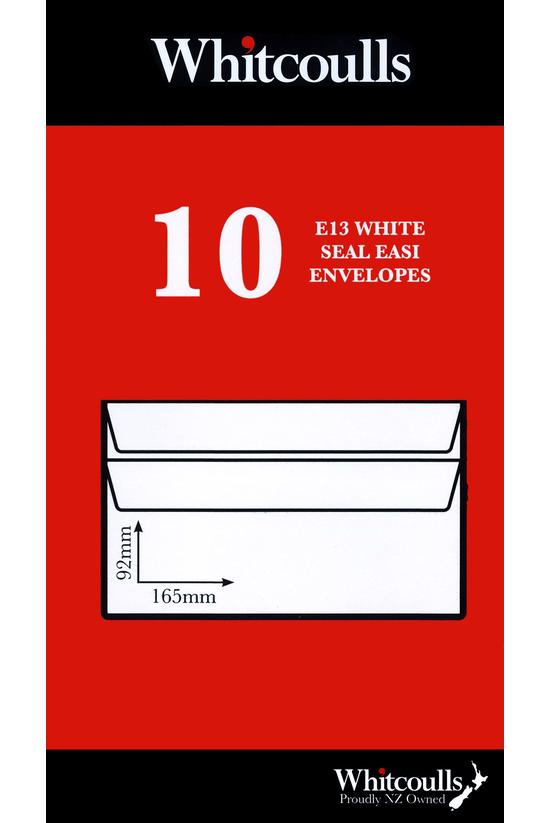 Whitcoulls Envelopes E13 Seal ...