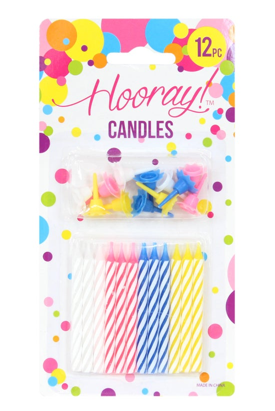 Hooray Candles Spiral Candles ...