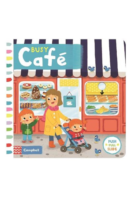 Busy Books: Busy Cafe