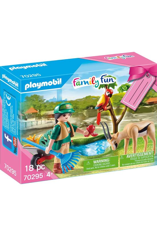 Playmobil Zoo Gift Set 70295