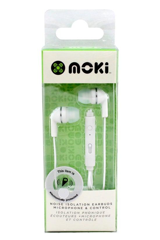 Moki Noise Isolation Earbuds W...