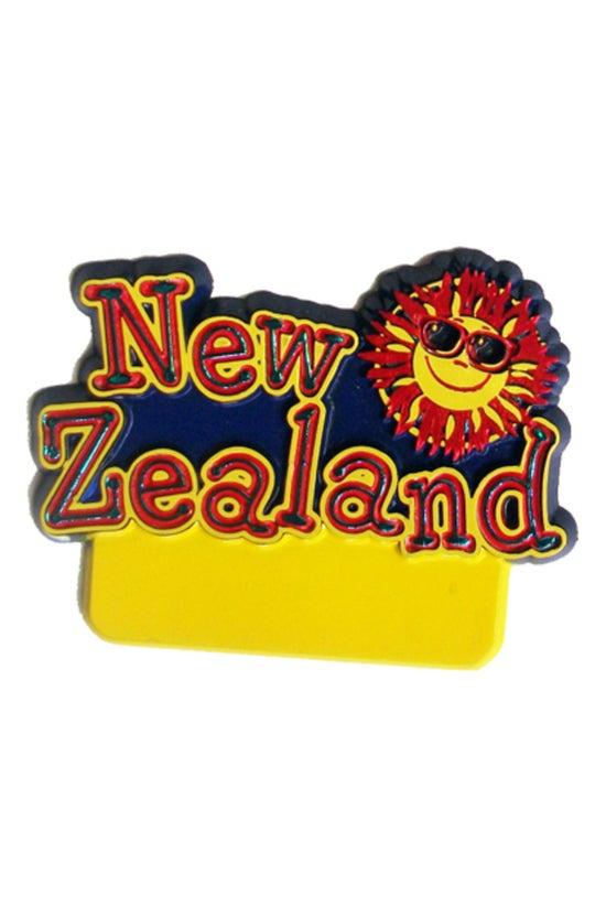 Fridge Magnet New Zealand With...
