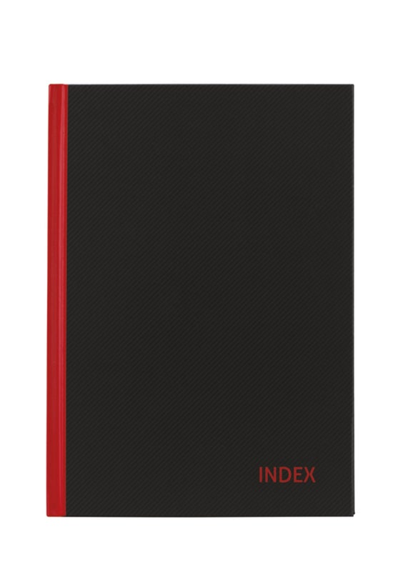 Collins Index Book Red And Bla...