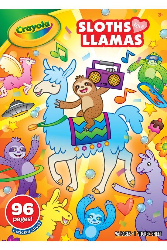 Crayola Colouring Book Sloths ...