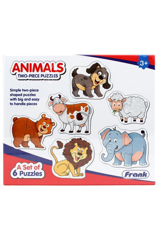 Frank Matching Puzzles 2 Piece...