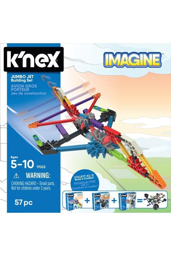 K'nex Imagine Jumbo Jet Buildi...