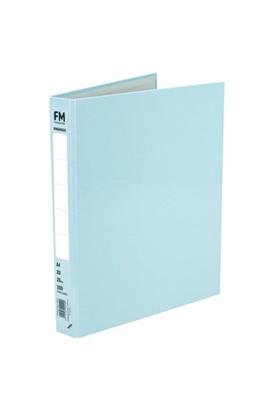 Fm Ringbinder A4 Pastel Blue