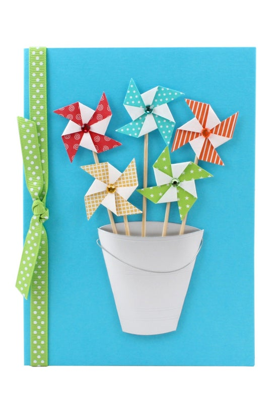 Papyrus Card Blank Colourful P...