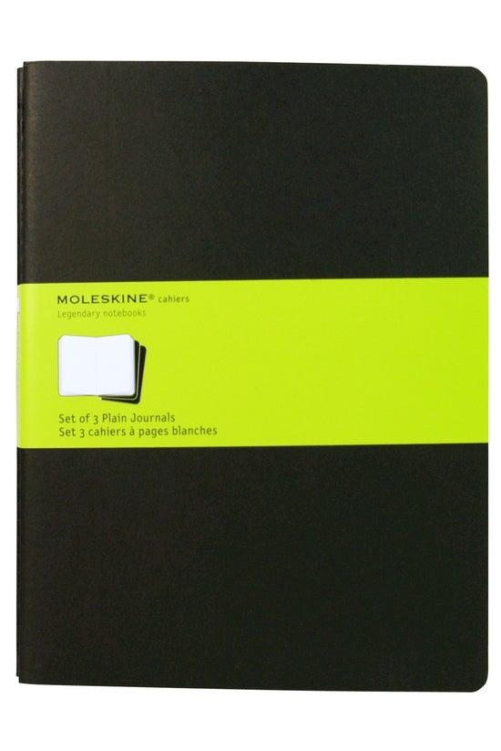 Moleskine Cahier Plain Extra L...