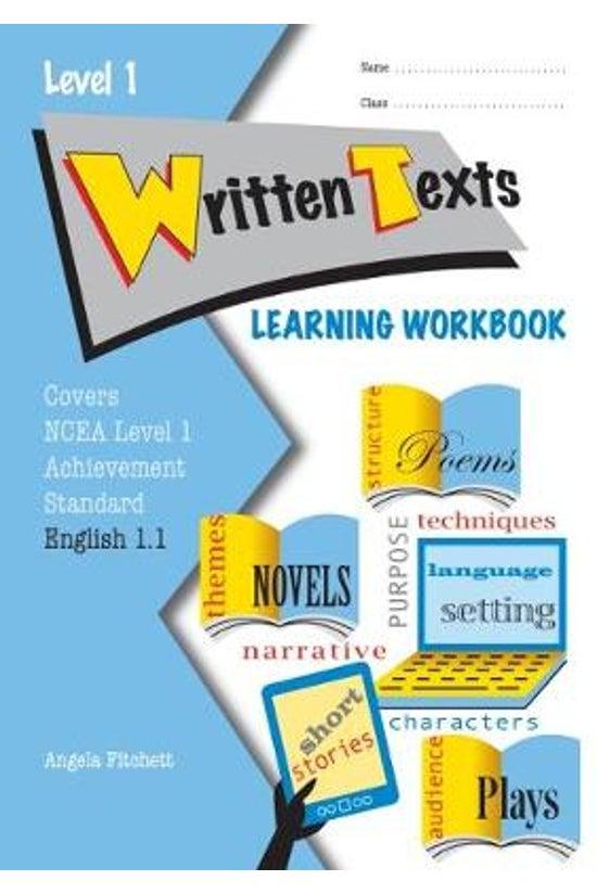 Ncea Level 1 English Written T...