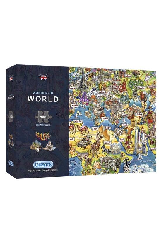 Gibsons Jigsaw Wonderful World...