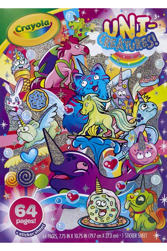Crayola Colouring Book Uni-cre...