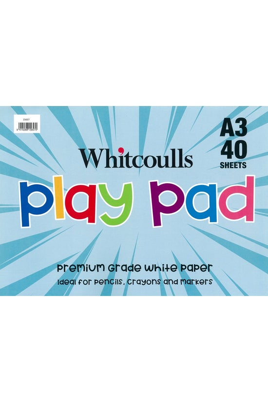 Whitcoulls Play Pad A3 40 Shee...