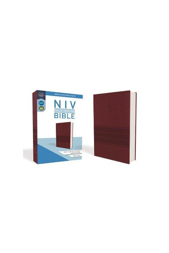 Niv, Value Thinline Bible, Lea...