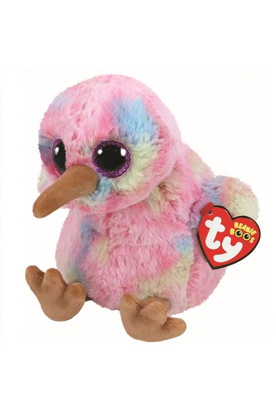 Ty Beanie Boos Kiwi Pink Mediu...