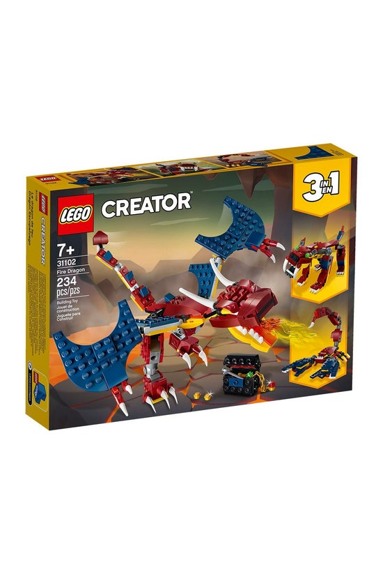 Lego Creator: 3-in-1 Fire Drag...