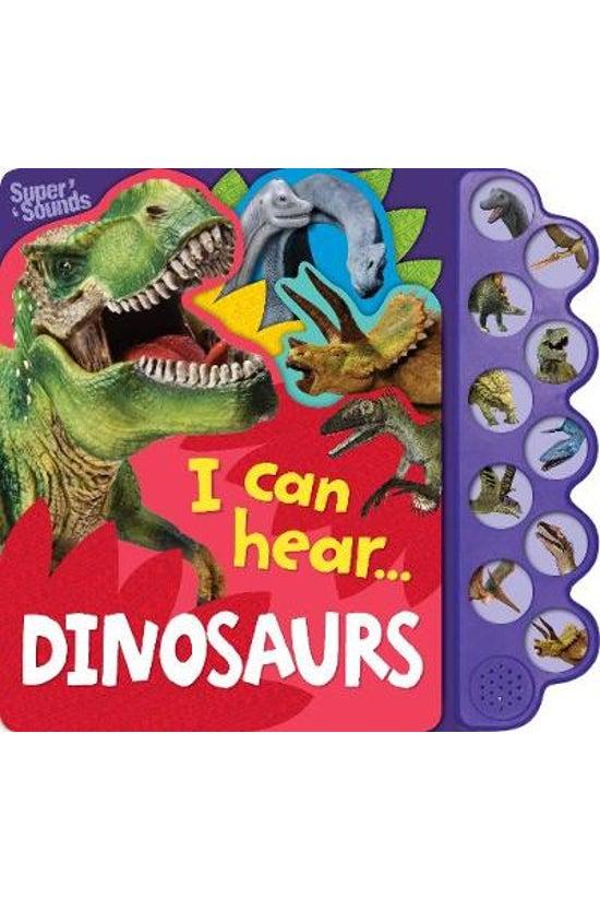 I Can Hear Dinosaurs Sound Boo...