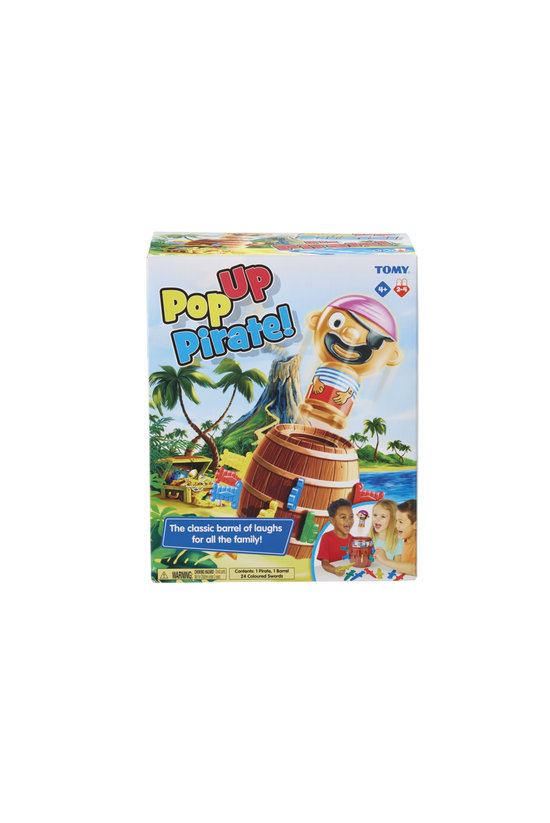 Pop Up Pirate Boxed Game