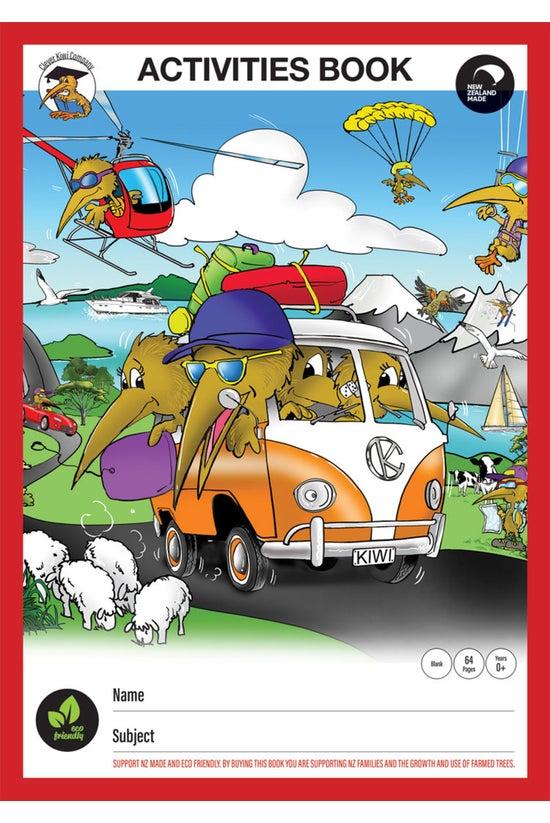Clever Kiwi Activities Book