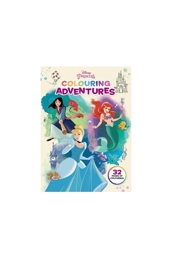 Disney Princess: Colouring Adv...