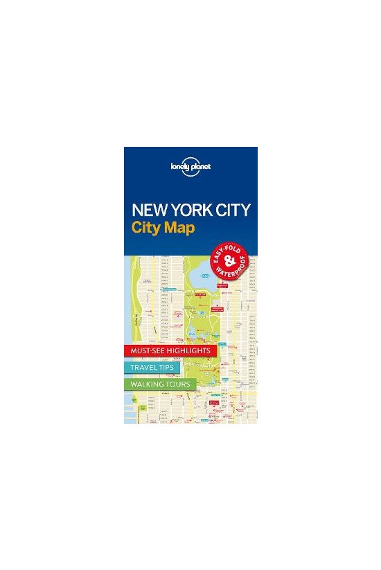 Lonely Planet New York City Ma...
