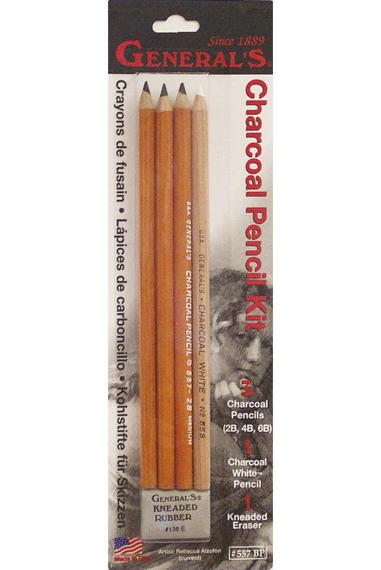 Generals Charcoal Pencil &...