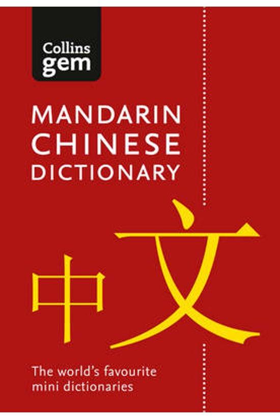 Collins Mandarin Chinese Gem D...