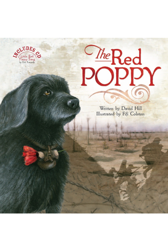 The Red Poppy Book With Cd