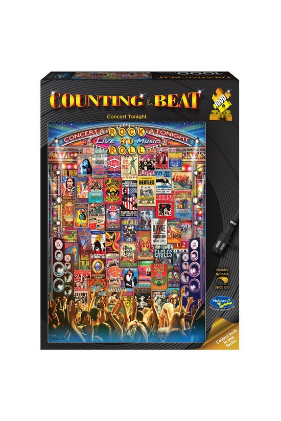 Counting The Beat 1000 Piece J...
