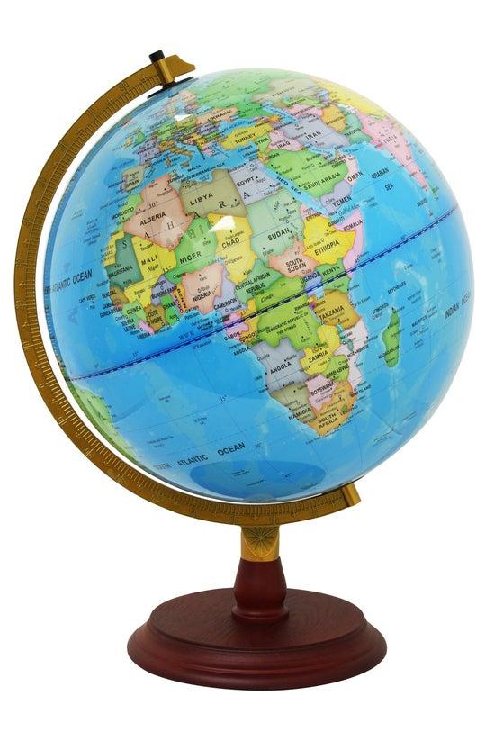 Political Map Globe 32cm