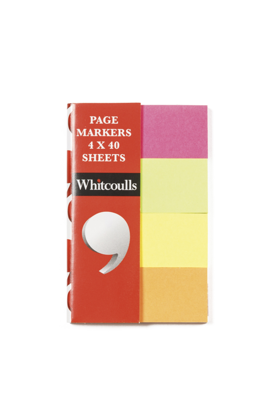 Whitcoulls Page Markers Neon P...